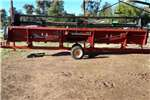 Agricultural trailers Carts and wagons CASE 1020 25FT FLEXIHEAD MET TAFELKAR
