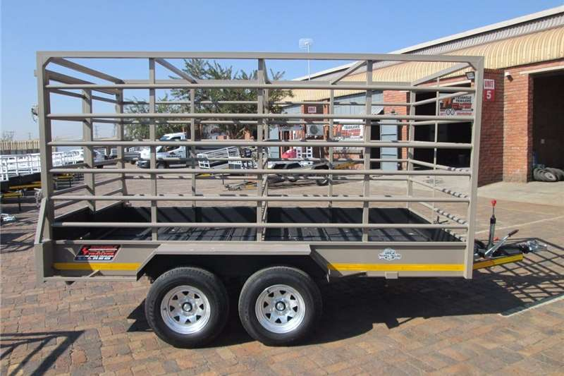 Cattle trailers 3ton cattle bees trailer Agricultural trailers