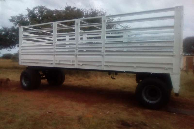 Agricultural Trailers Cattle Trailers 7.2 meter drawbar cattle trailer