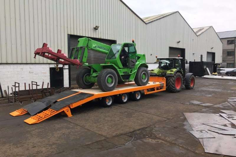 Chieftain 3 Axle Agri Drawbar Low Speed Agricultural trailers