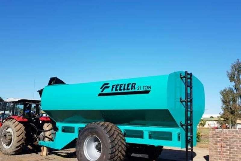 Doosan Grain trailers FEELER Agricultural trailers