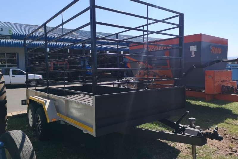Double Axle Caroll Trailer 2.5Ton Agricultural trailers