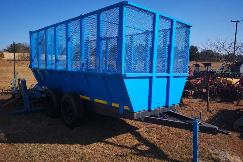 Grain trailers 10 Ton Harvest Trailer, Double wheel Agricultural trailers