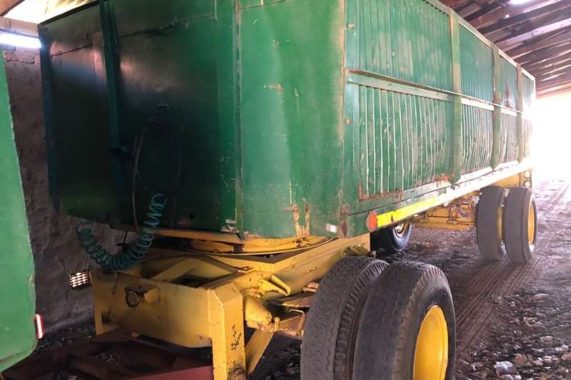 Grain trailers 12 ton sleepwa Agricultural trailers