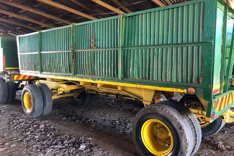 Grain trailers 12 ton sleepwa Agricultural trailers