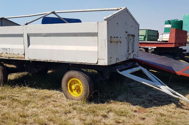 Grain trailers Grey + 6 ton trailer Agricultural trailers