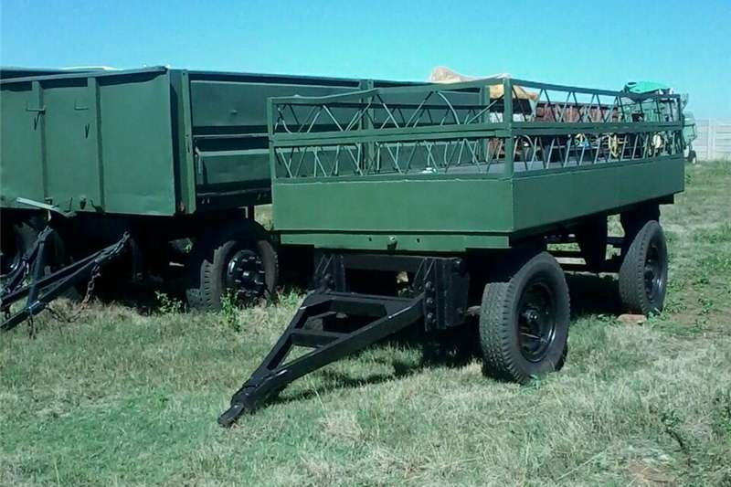 Grain trailers three cheap farming trailers Agricultural trailers