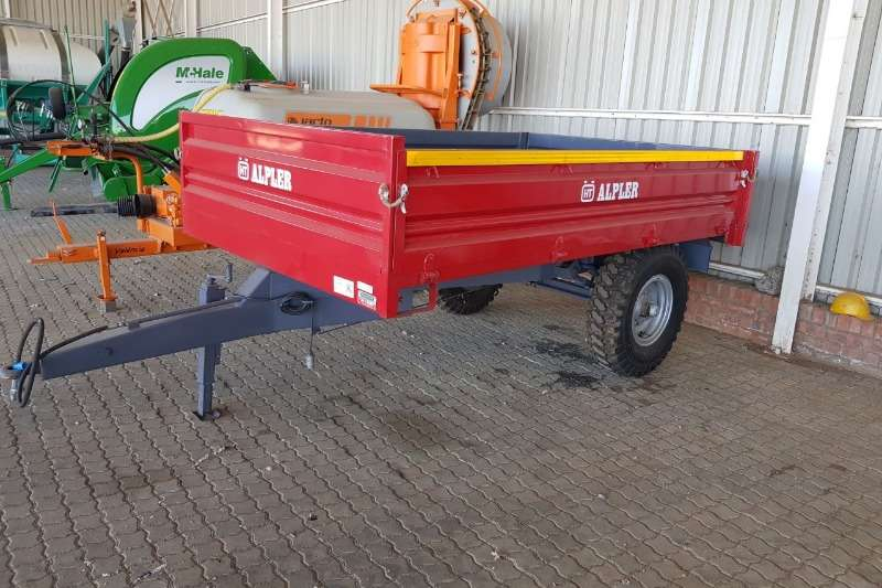 JX Alpher 5T Tip Trailer Nuut Agricultural trailers