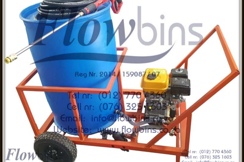 Other agricultural trailers 1000Lt Pressure Washer 0 178 Bar adjustable   Bakk Agricultural trailers
