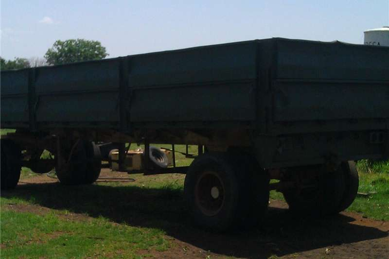 Other agricultural trailers 2 graan sleepwa Agricultural trailers