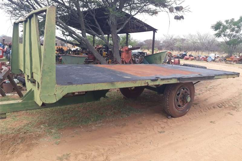 Other agricultural trailers 2 wiel sleepwa 6 ton 5.5m Agricultural trailers