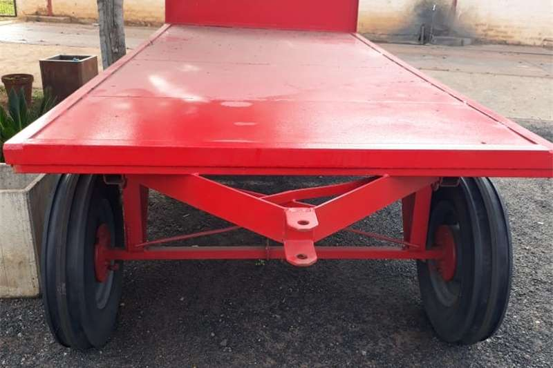 Other agricultural trailers 3 Ton 4 Wiel Sleepwa Agricultural trailers