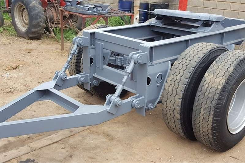 Agricultural Trailers Other Agricultural Trailers Double Axel Trailer Dolly