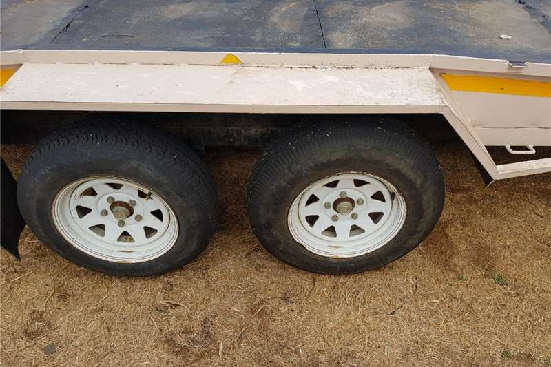 Other agricultural trailers Dubbel as wa Agricultural trailers