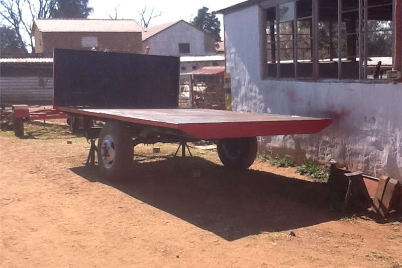 Other agricultural trailers farm trailer flat bed Agricultural trailers