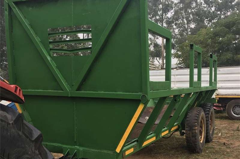 Other agricultural trailers HEAVY DUTY TIMBER/SUGAR D/AXLE TRACTOR TRAILER Agricultural trailers