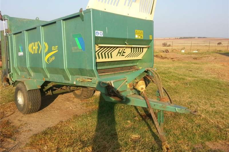 Other agricultural trailers Misstrooier Agricultural trailers