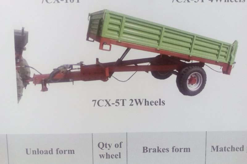 Agricultural Trailers Other Agricultural Trailers New 5/3 Ton Tip trailers with dropsides 2017