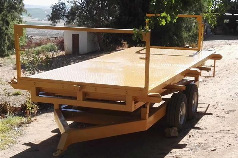 Other agricultural trailers Plat form Cross lift Trailer Agricultural trailers