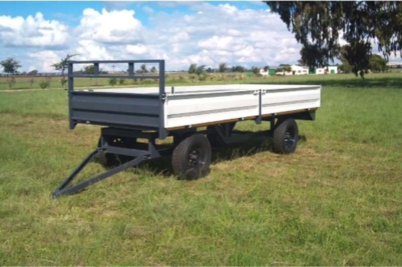 Other agricultural trailers S3077Verrigter 10 Ton met drop sides New Trailer Agricultural trailers