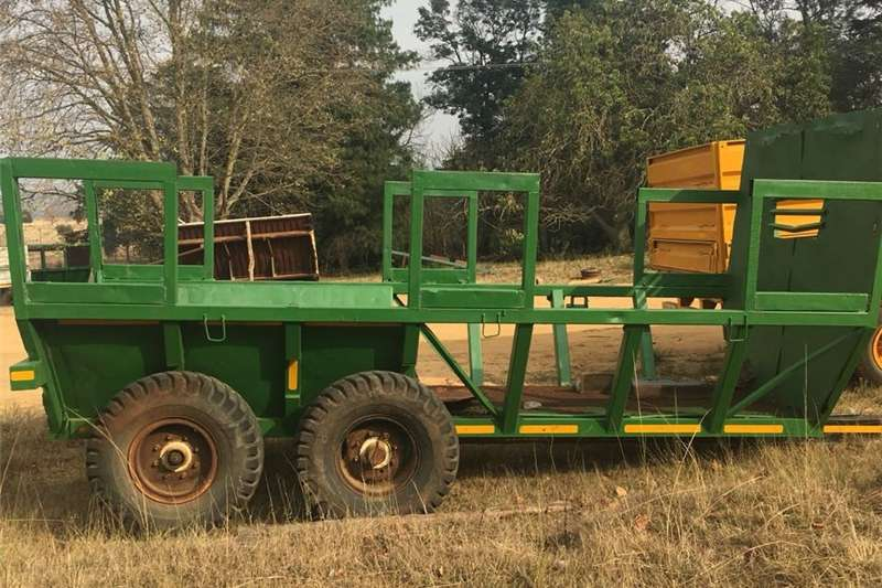 Other agricultural trailers TIMBER D/AXLE TRACTOR TRAILER Agricultural trailers