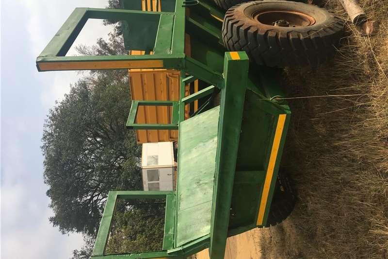 Other agricultural trailers Timber D/axle tractor trailer. Agricultural trailers