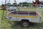 Agricultural trailers Small trailers 3/4 ton Sleepwa met papiere