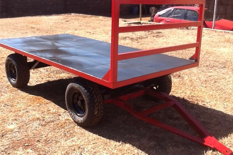 Small trailers trailer 4 wheeler flat bed Agricultural trailers
