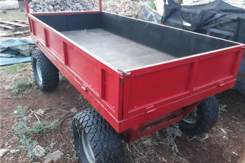 Small trailers trailer side drops Agricultural trailers