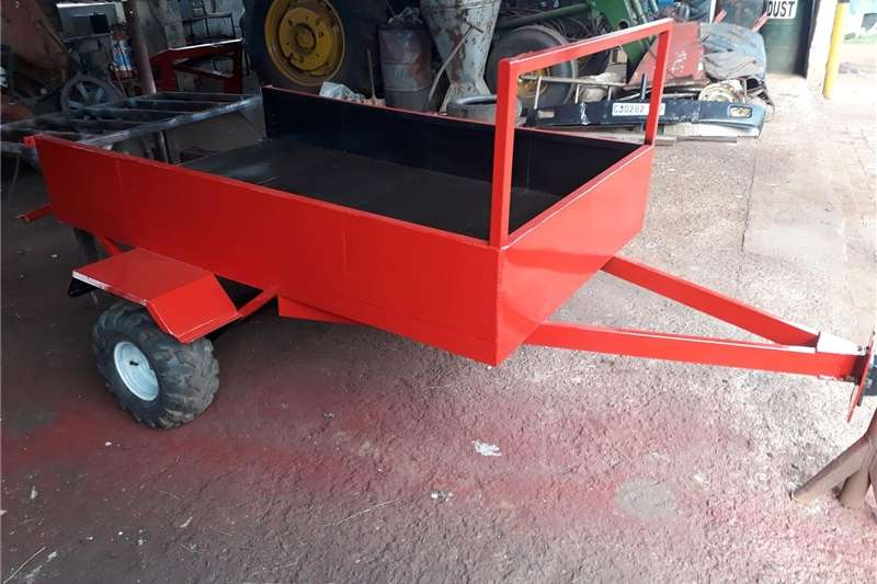 Agricultural Trailers Small Trailers trailer tow by quad bike