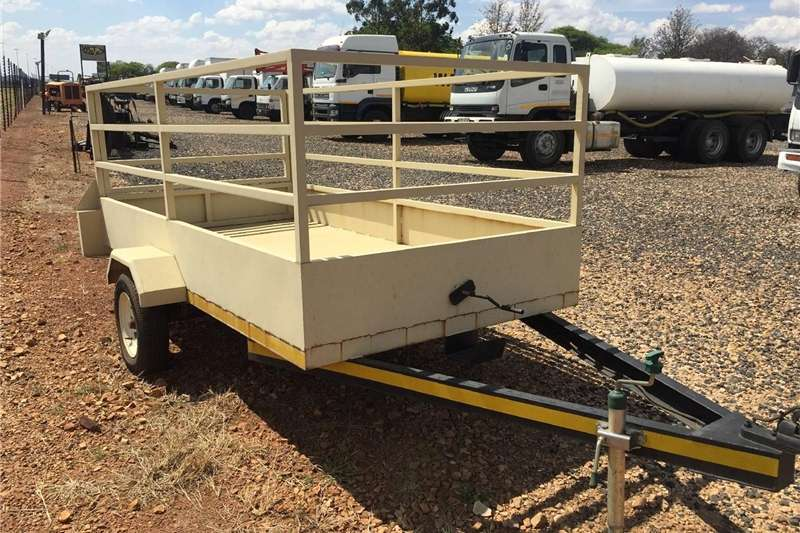Small trailers U Make Single Axle Trailer with Sides / Enkel As W Agricultural trailers