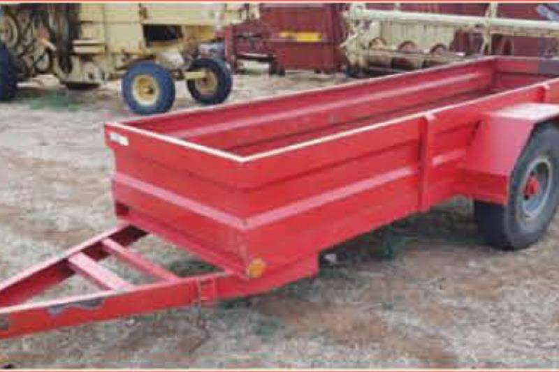 Small trailers Wa met 5 Ton as Agricultural trailers