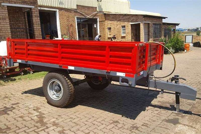 Tipper trailer 2 and 5 Ton Tipper Trailer Agricultural trailers