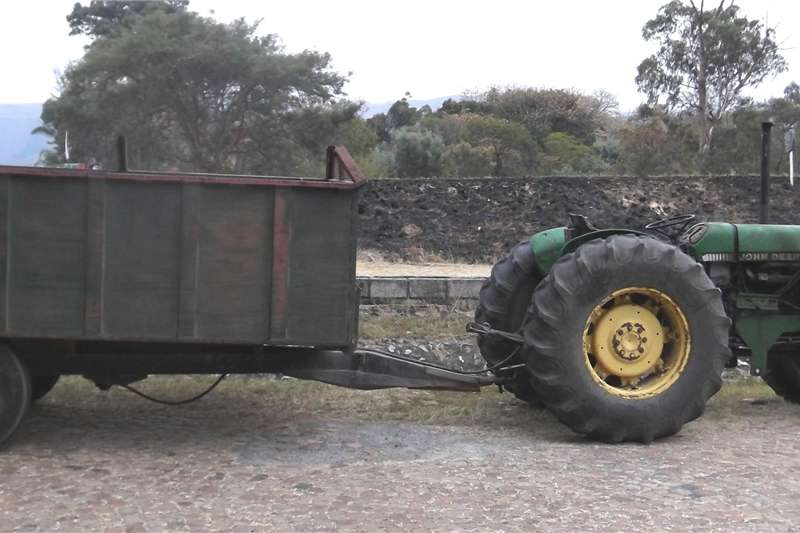 Tipper trailer 5 ton heavy duty custom built tipper trailer Agricultural trailers