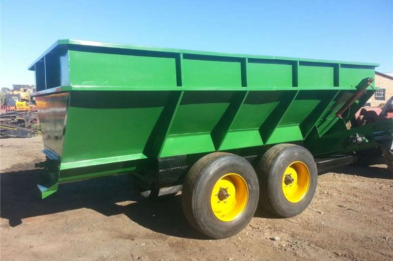 Tipper trailer AGRICO AD Custom Rebuild Agricultural trailers