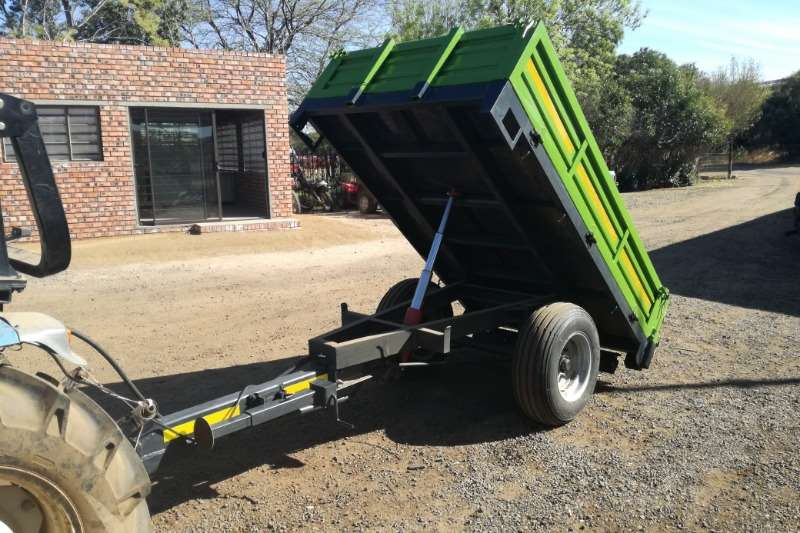 Tipper trailer New 2 Ton Tip Trailer Agricultural trailers