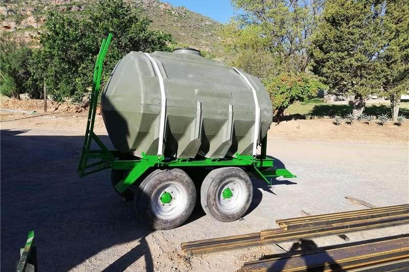 Water trailers 5000L Brand en Besproeiing sleepwa Agricultural trailers