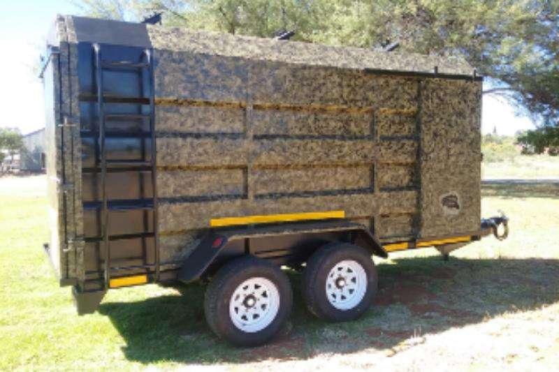 Ystervark Livestock trailers YSTERVARK 4.2 M X 1.6M WILDSWA Agricultural trailers