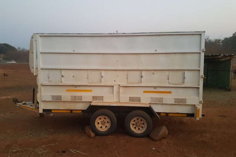 Arlington Staalwerke Agricultural Trailers GAME TRAILER with 3 compartments