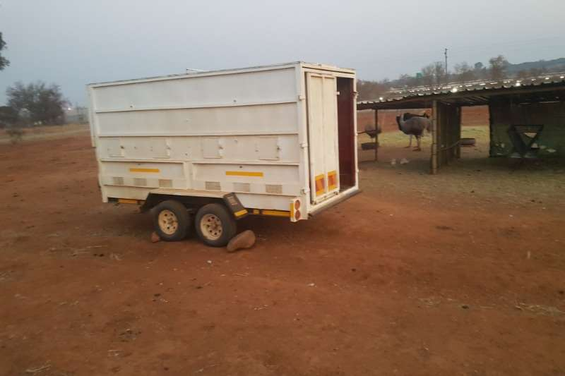 Arlington Staalwerke GAME TRAILER with 3 compartments Agricultural trailers