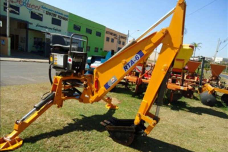 Bucket RTA 6 Backhoe Attachment