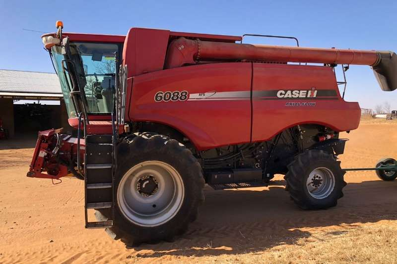 Case Grain harvesters 2012 Case 6088 Stroper 2600 EH & 1860 RH Combine harvesters and harvesting equipment