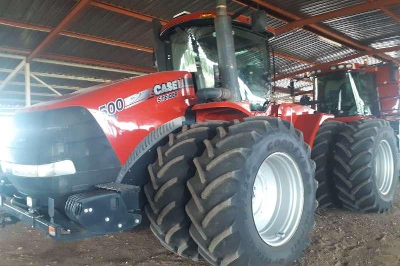 Case Four wheel drive tractors Case IH STX500 Steiger Tractors