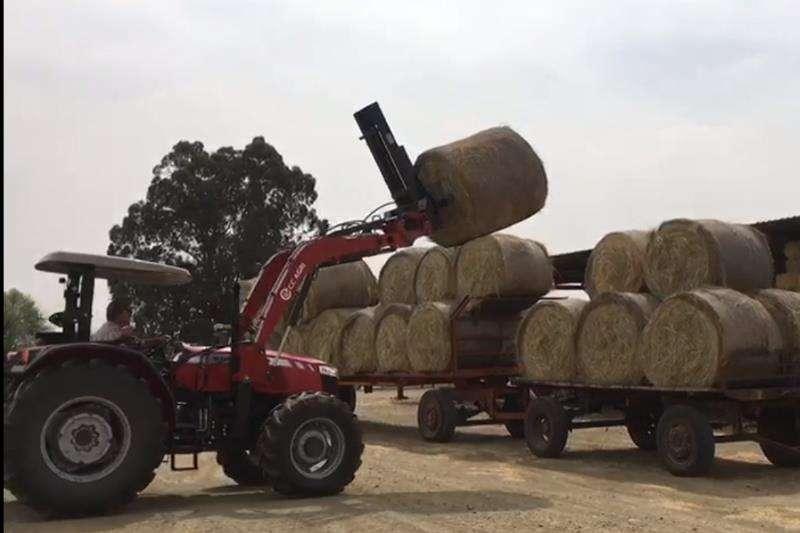 CC Agri Farming CC Agri Baalvurk Front end loader