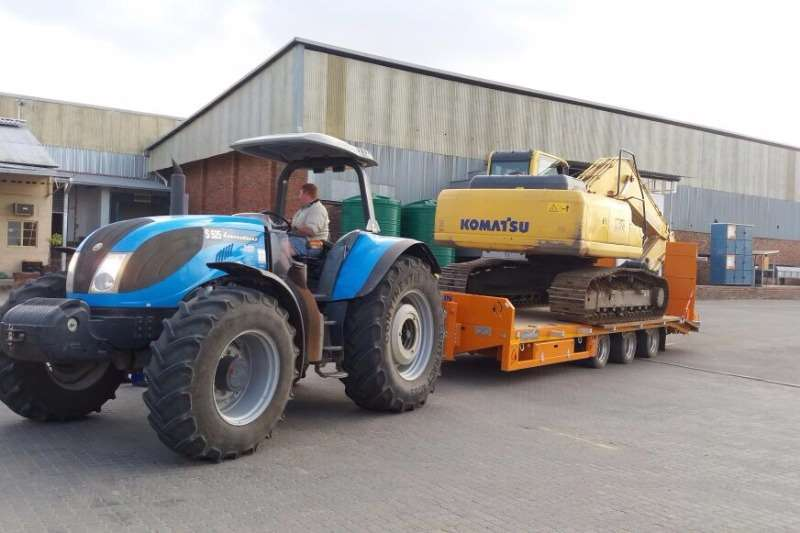 Chieftain New 3 Axle Agri Drawbar Low Speed Agricultural trailers