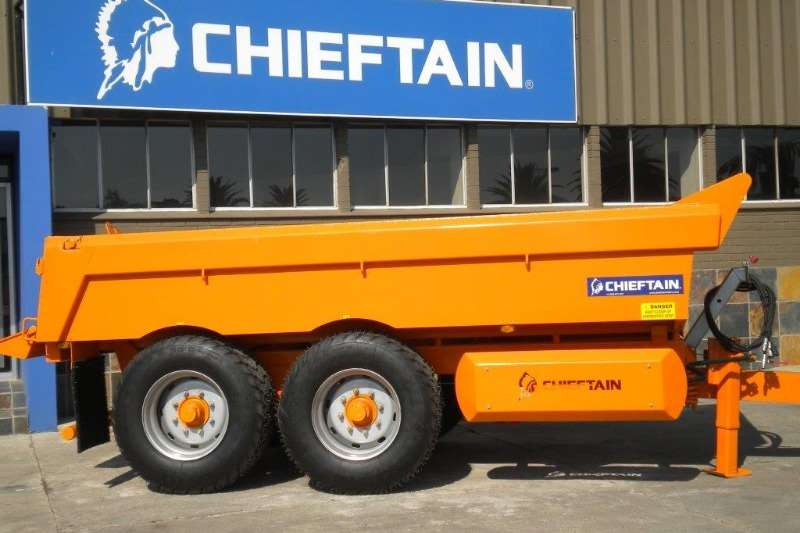 Chieftain Tipper trailer New 12 Ton Dump Trailer Agricultural trailers