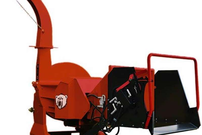 Chippers Wood Chippers Grizzly Wood Chipper 254mm