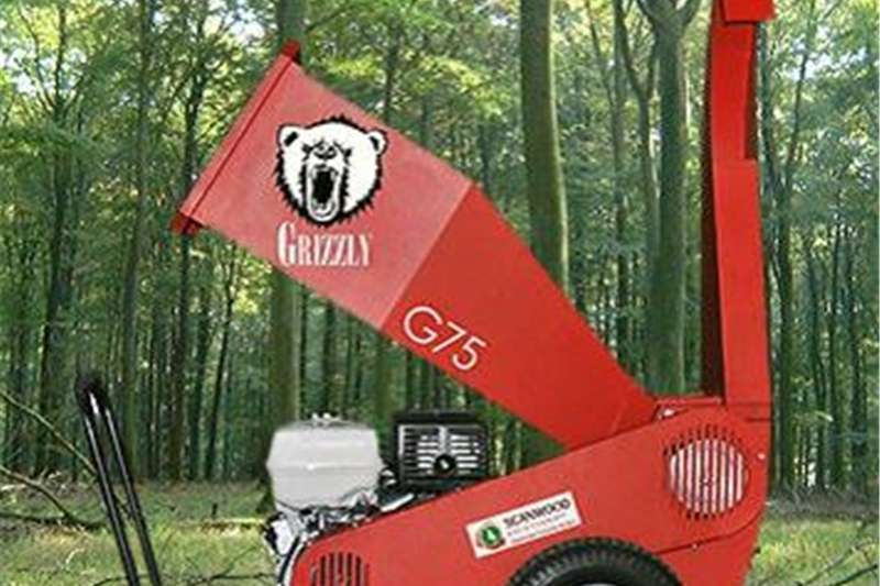 Chippers Wood Chippers Grizzly Wood Chipper 75mm
