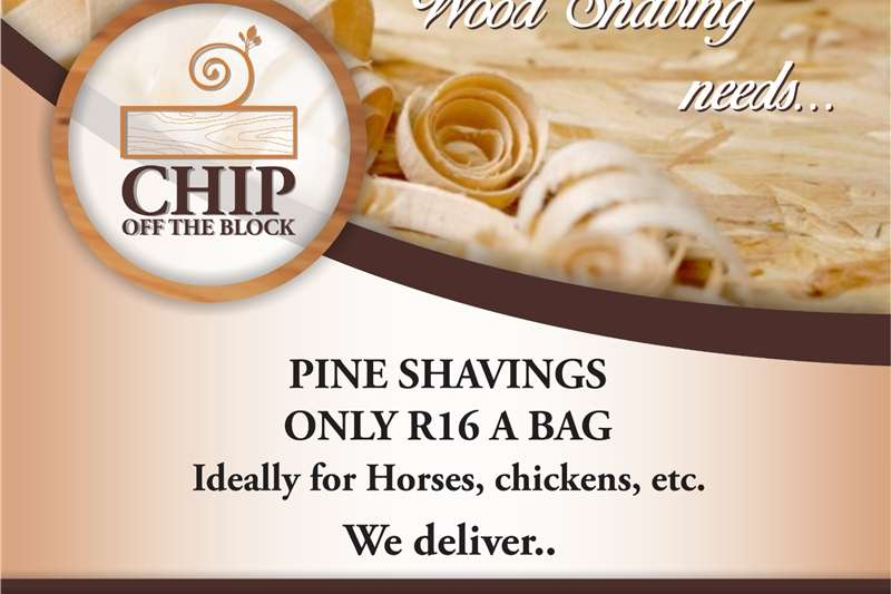 Chippers Wood Chippers Pine shavings