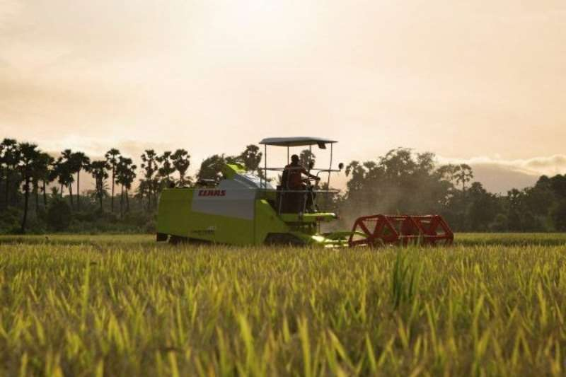 Claas CROP TIGER 40 Combine harvesters and harvesting equipment